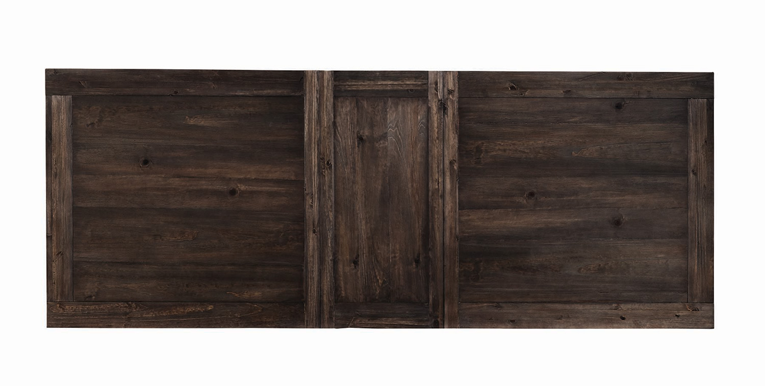 Coaster Weber Rectangular Dining Table with Leaf - Smokey Black ... for Rectangular Table Top View  53kxo