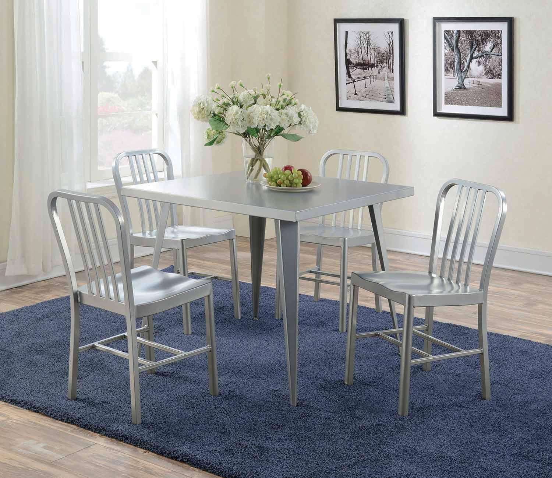 Coaster Lipscomb Rectangular Dining Set