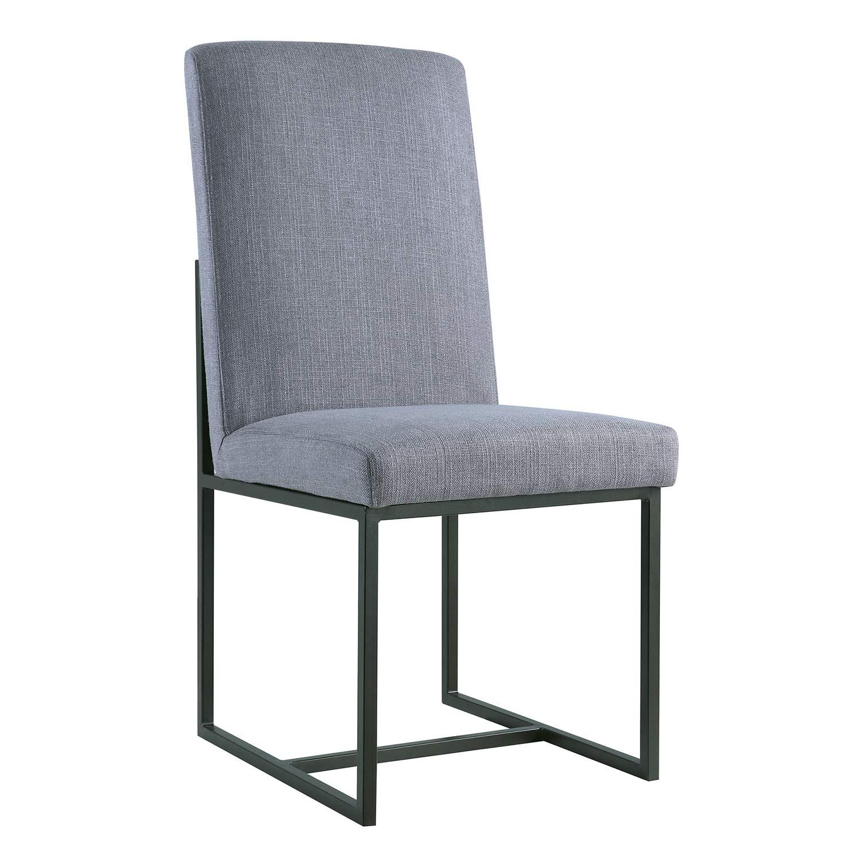Coaster 107383 Side Chair - Grey