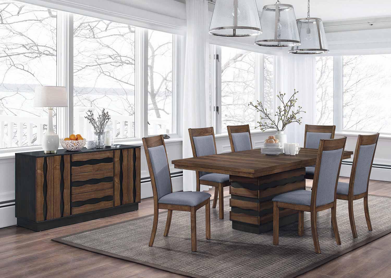 Coaster Octavia Rectangular Dining Set