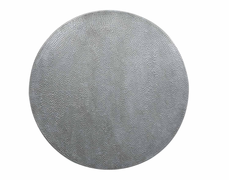 Coaster Rhea Metal Crank Table - Black/Zinc