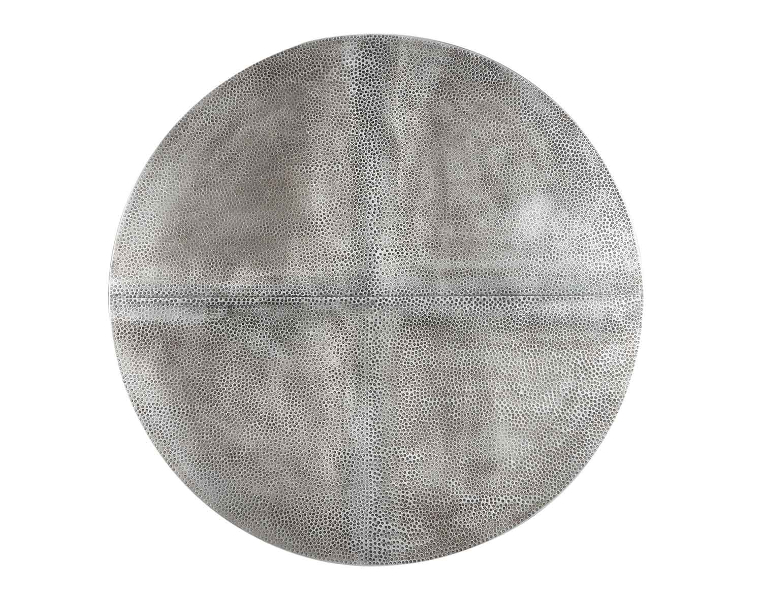 Coaster Rochelle Round Dining Table - Zinc