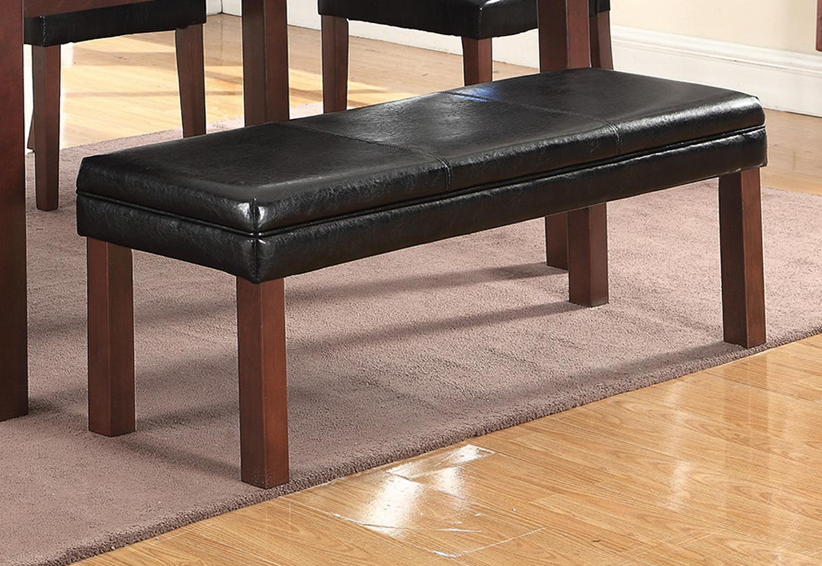 Coaster Otero Bench - Dark Brown/Black