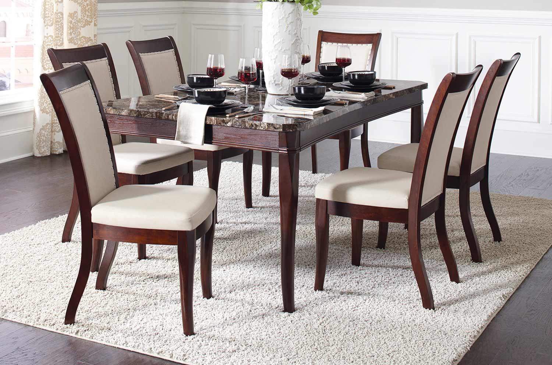 Coaster Cornett Dining Set - Dark Brown