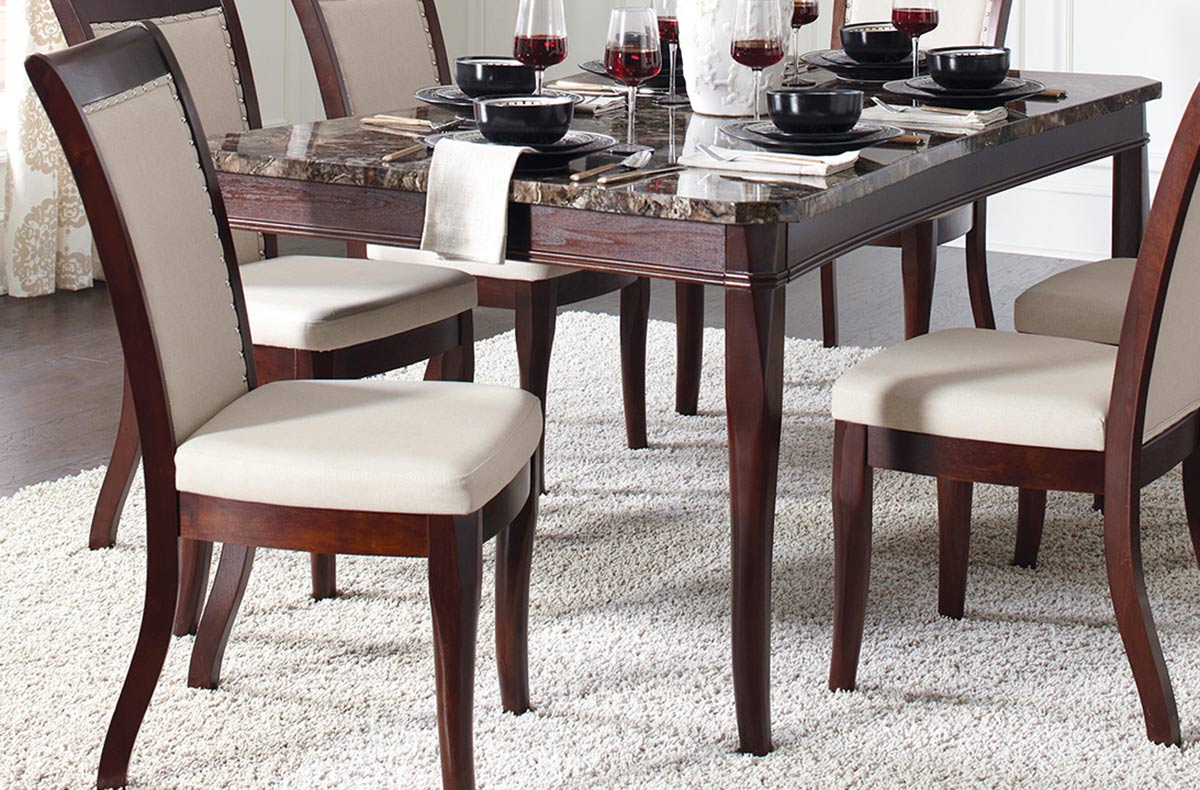 Coaster Cornett Dining Table - Dark Brown