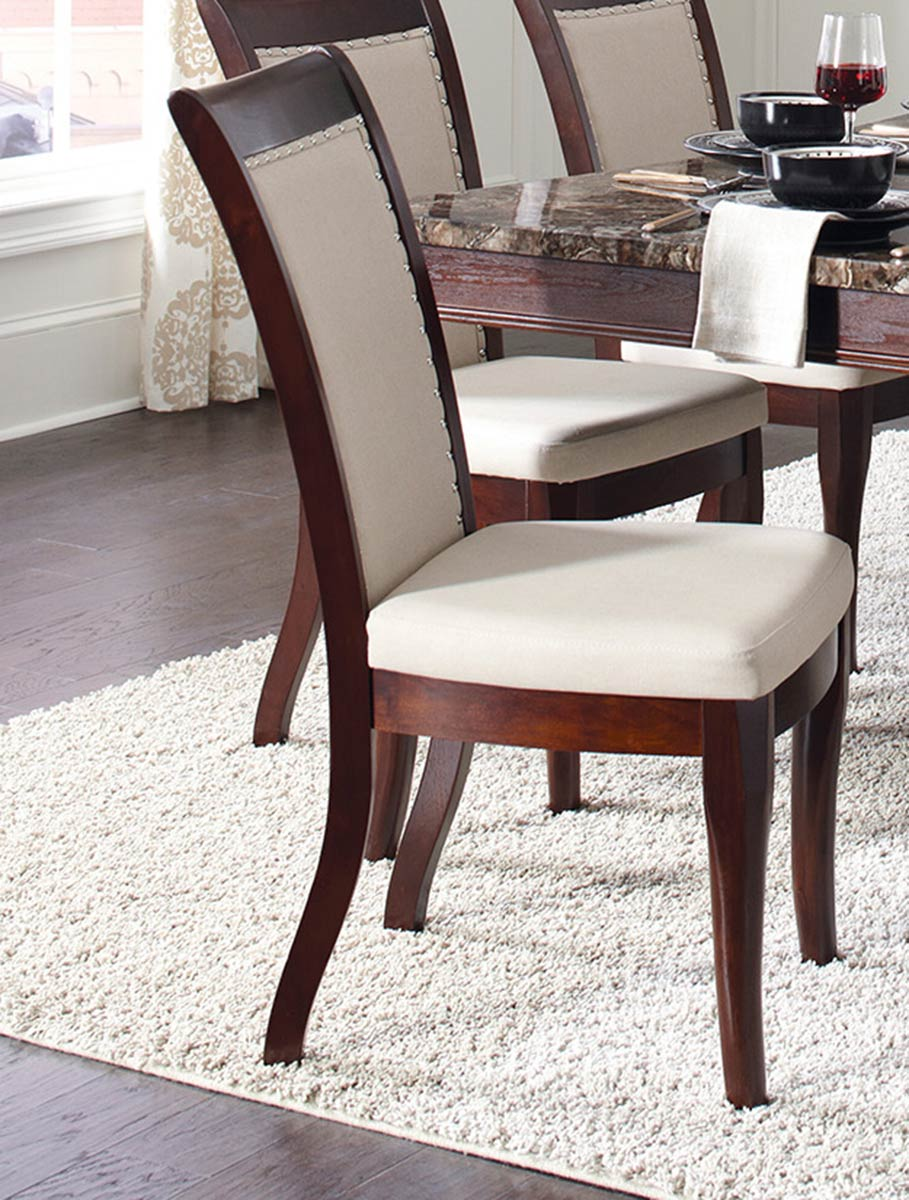 Coaster Cornett Side Chair - Dark Brown