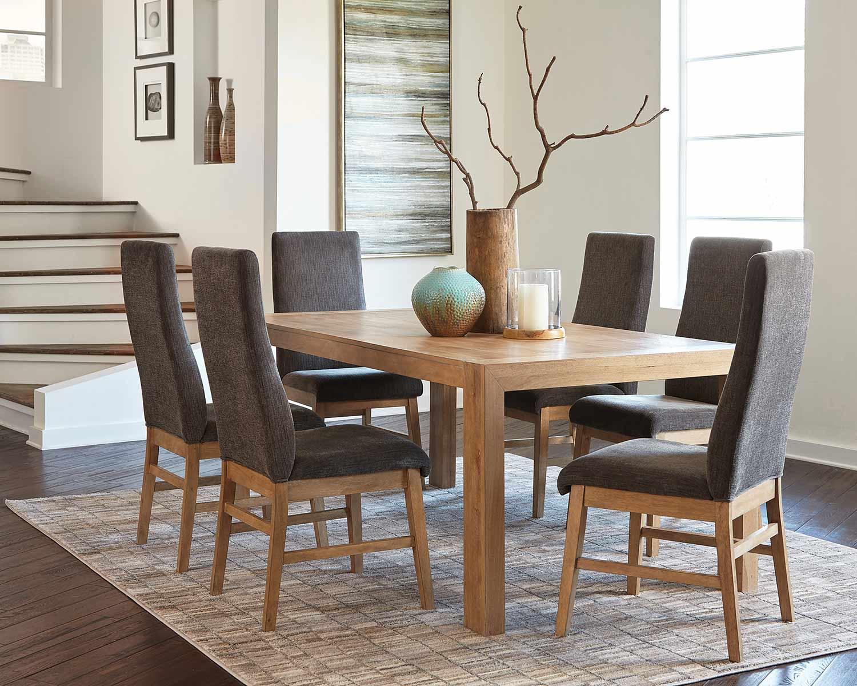 Coaster Kingston Dining Set - Drifted Acacia