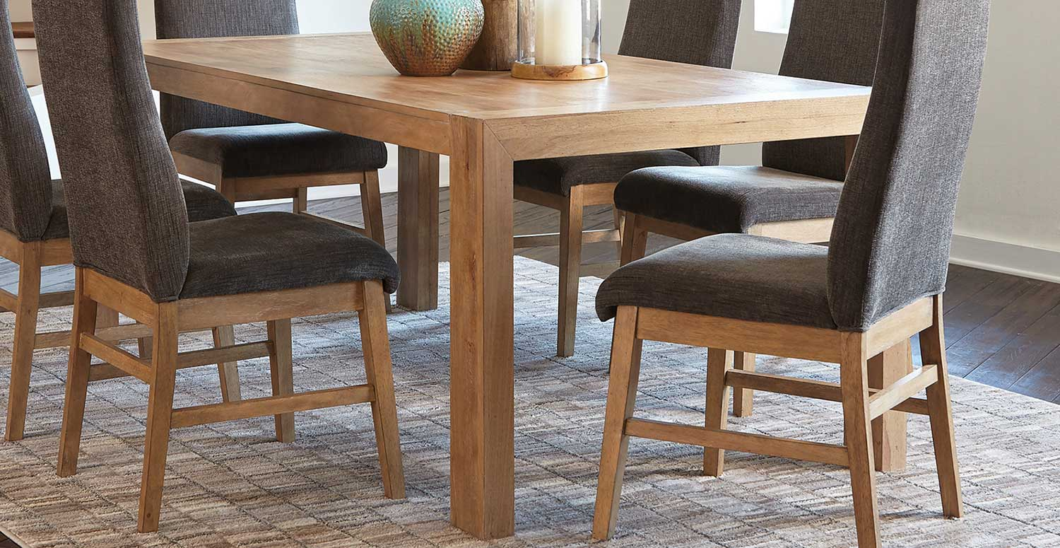 Coaster Kingston Dining Table   Drifted Acacia