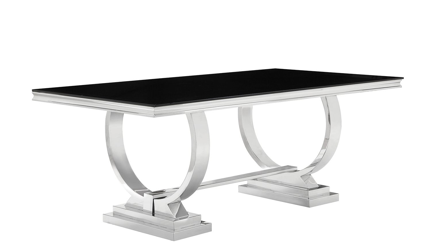 Coaster Antoine Dining Table - Chrome