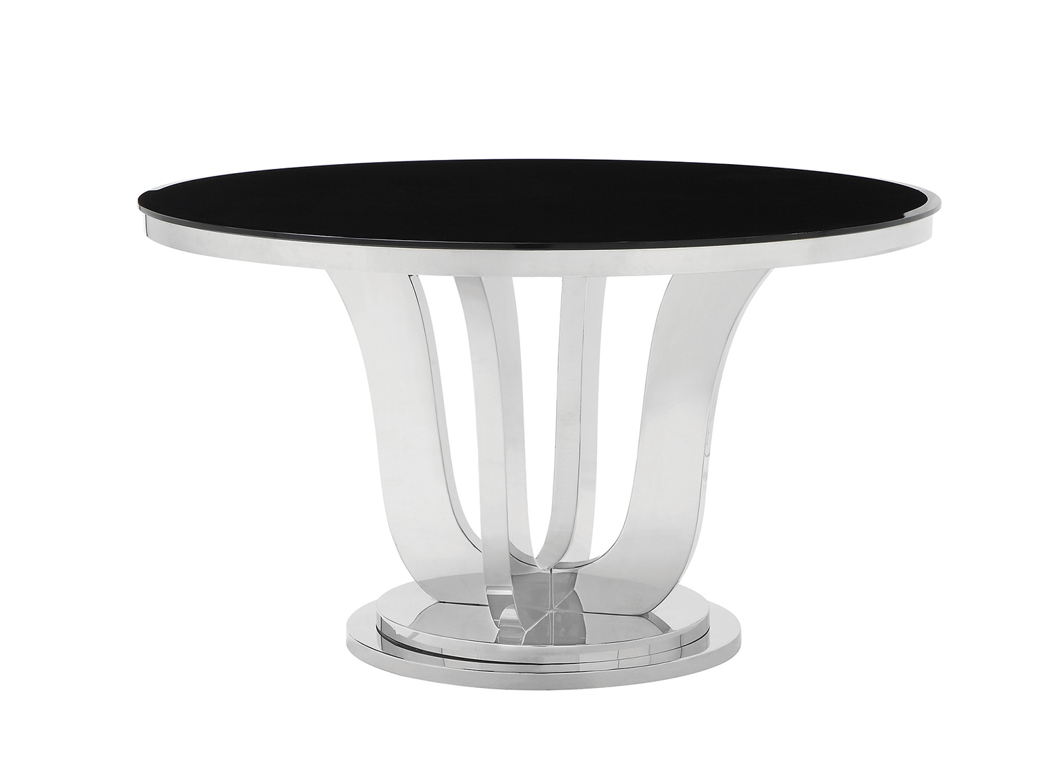 Coaster Blasio Dining Table - Chrome