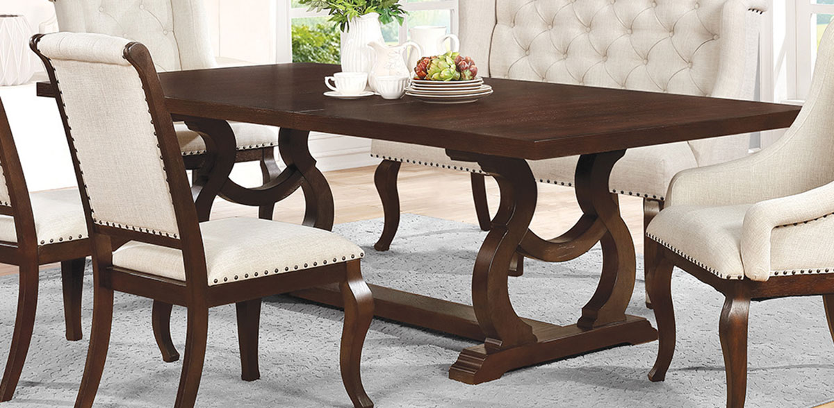Coaster Glen Cove Dining Table - Antique Java