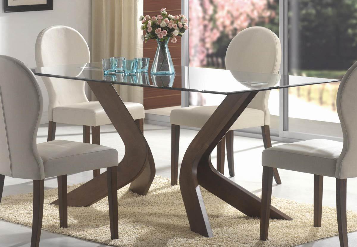 Coaster San Vicente Rectangular Glass Dining Table 120361 ...