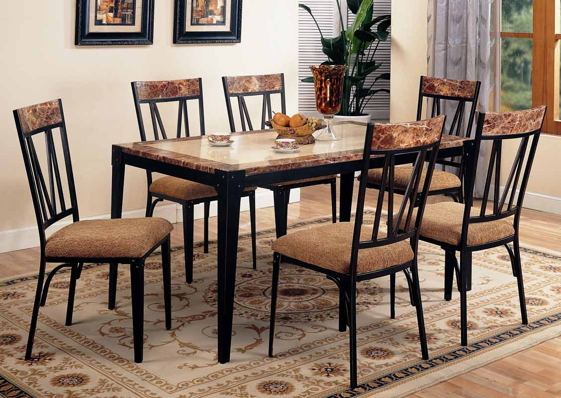 Coaster Ocean Park Rectangular Dining Set