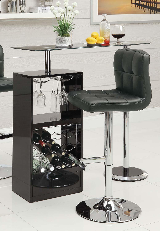 Coaster 120451 Bar Table - Black