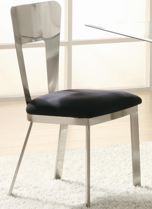 Coaster Eris Rectangular Glass Dining Set