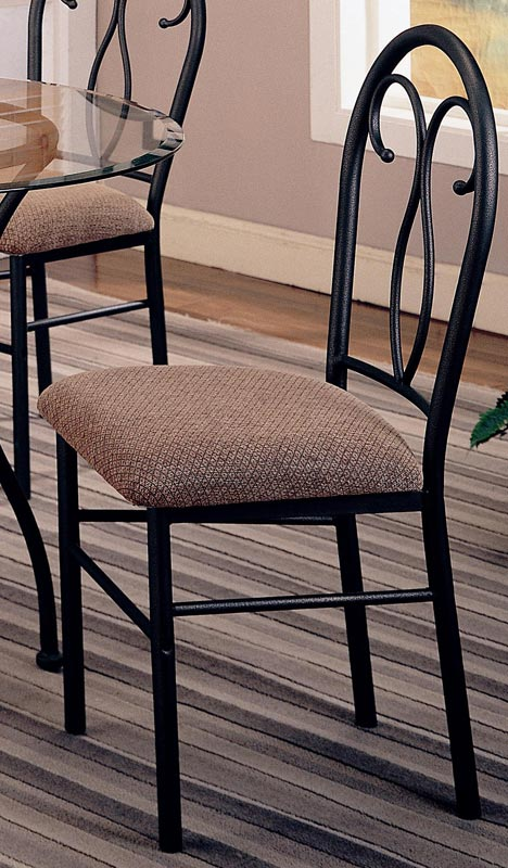 Coaster Odelia 5 Piece Round Glass Dining Set