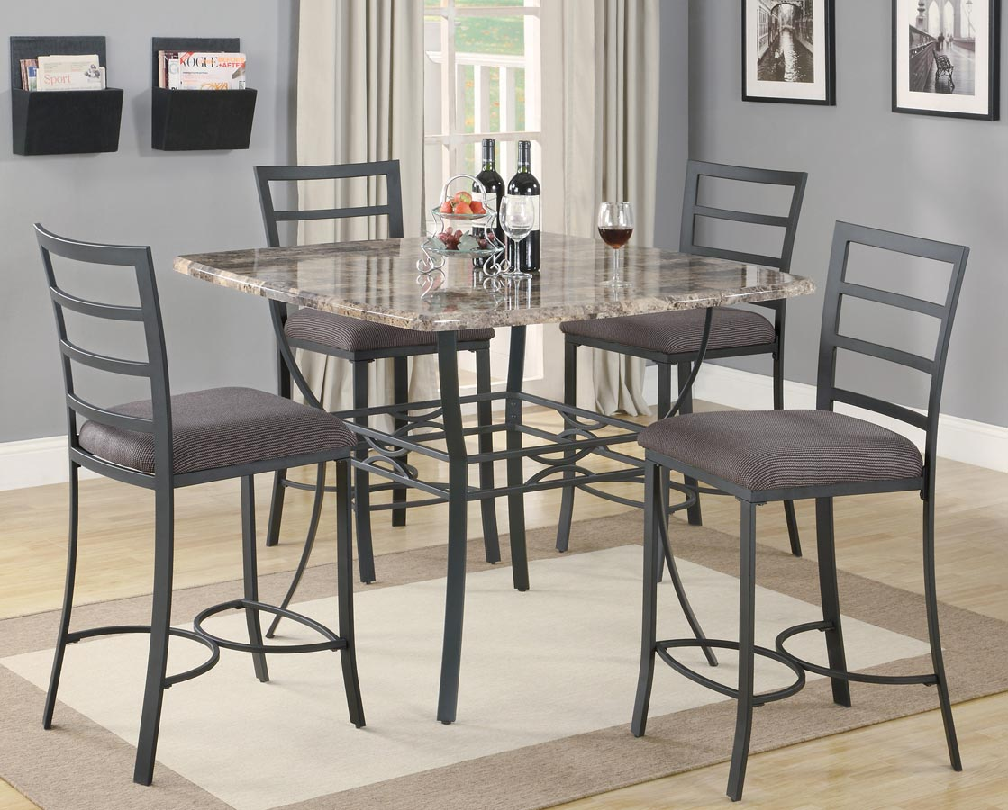Coaster 120678 Counter Height Dinette Set