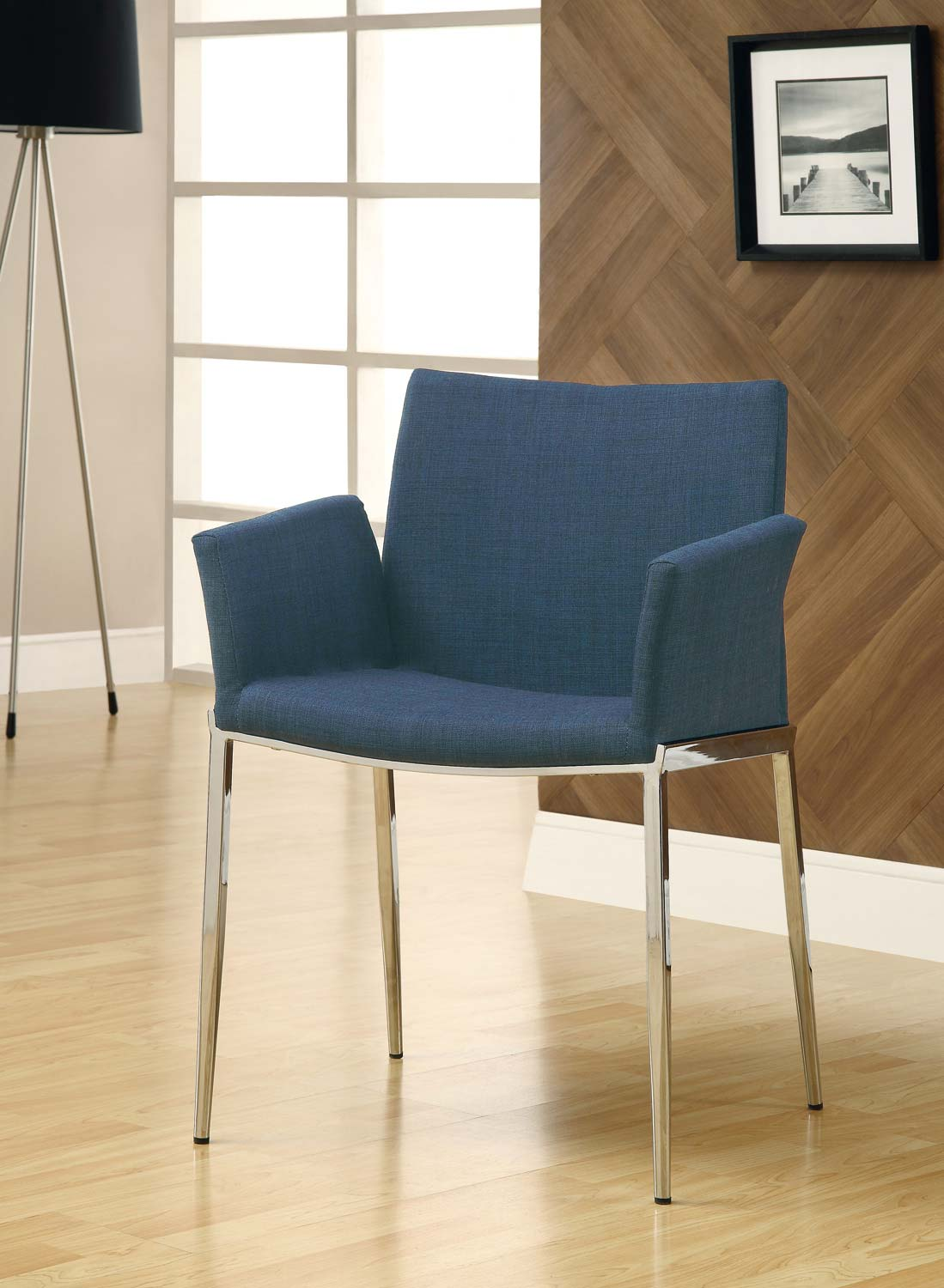 Coaster Mix & Match Dining Chair - Navy