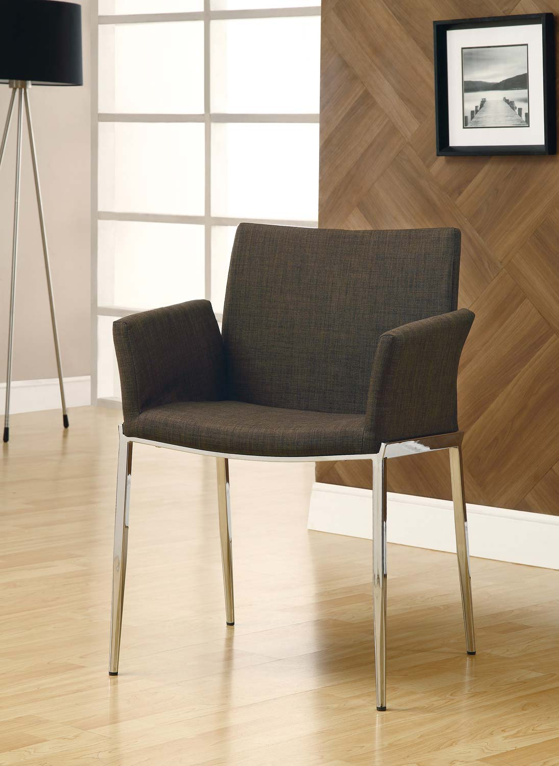Coaster Mix & Match Dining Chair - Coffee