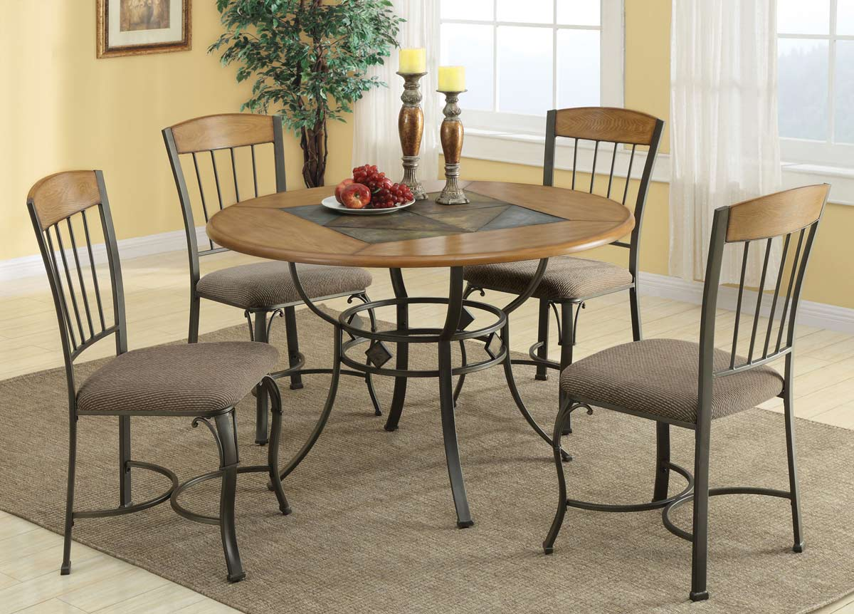 Coaster 120771 table 120771 at for Very small dining sets