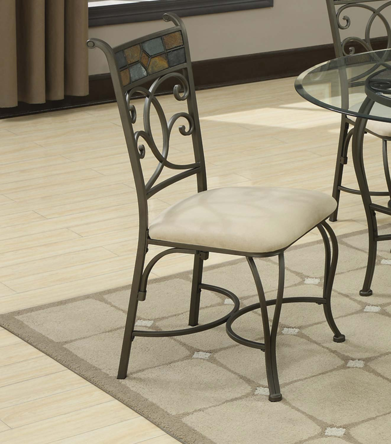 quality coaster 120832 120831 dining chair at best discount