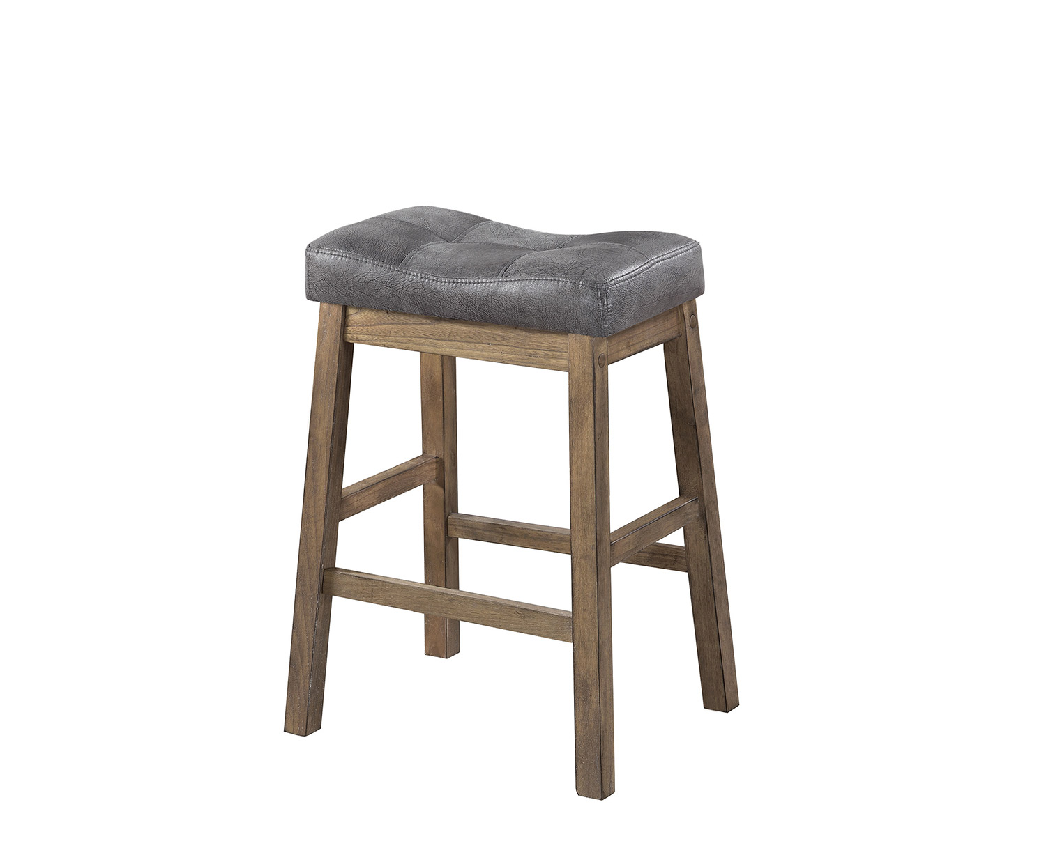 Coaster 121519 Counter Height Stool - Brown/Driftwood