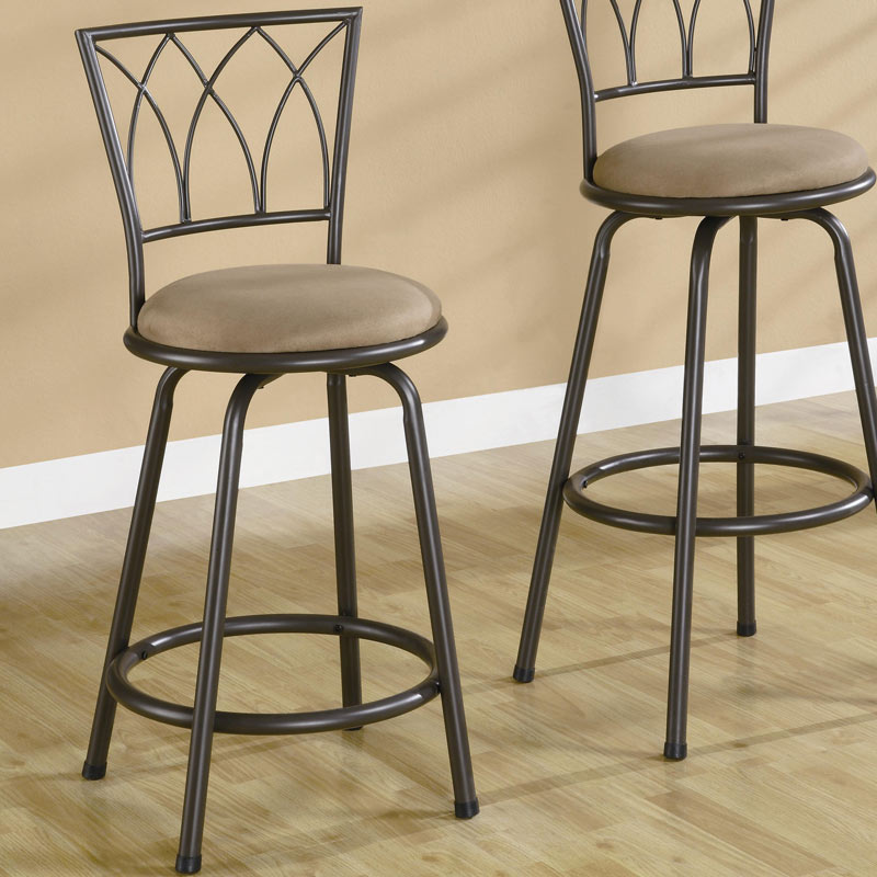 Coaster 122019 24 Inch Counter Stool 122019 At Homelement Com