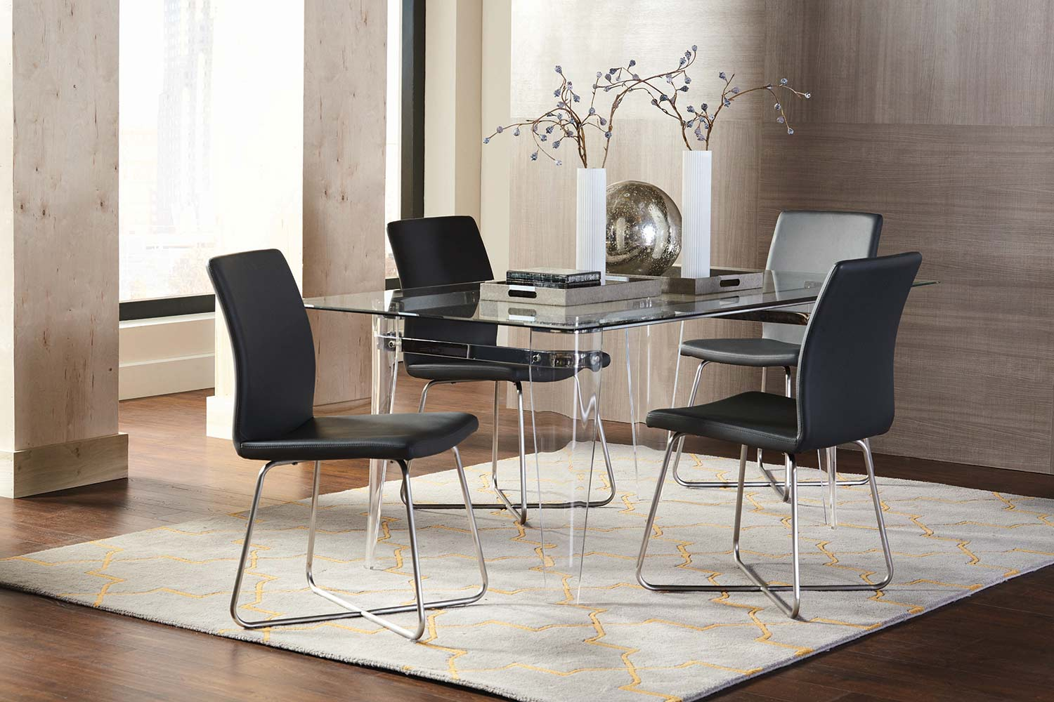 Coaster Michonne Rectangular Dining Set