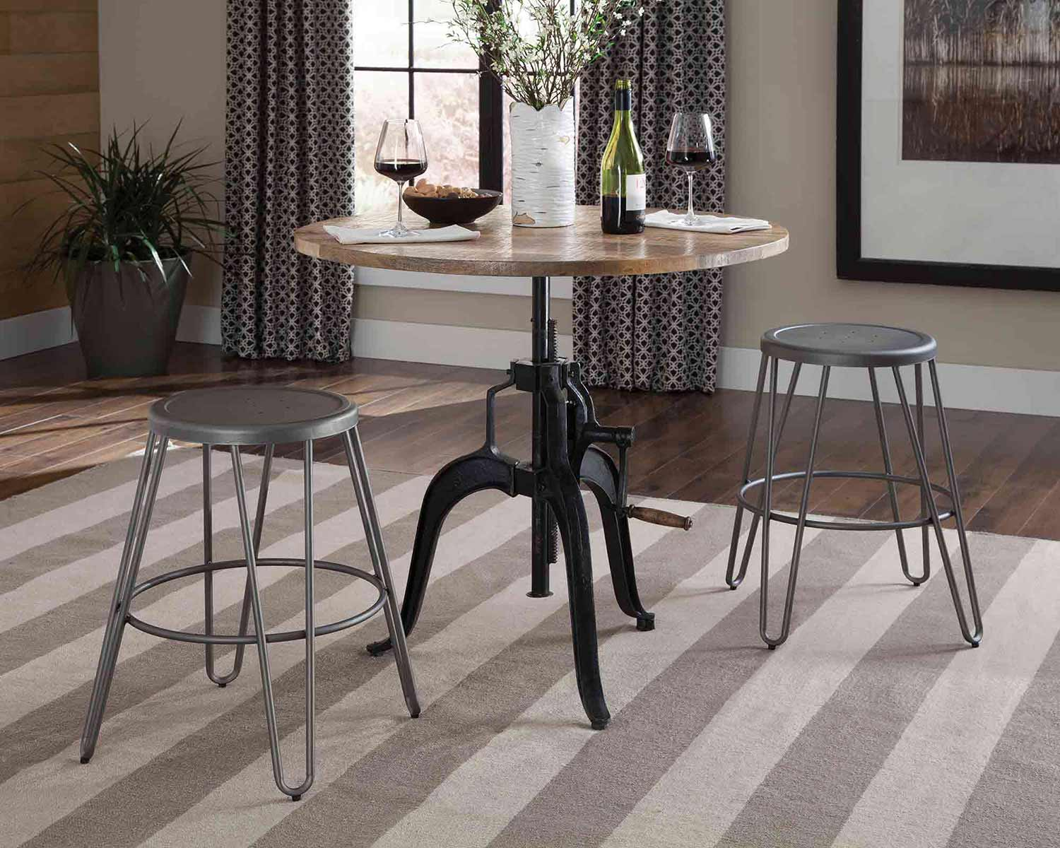 Coaster Galway Counter Height Dining Set - Natural