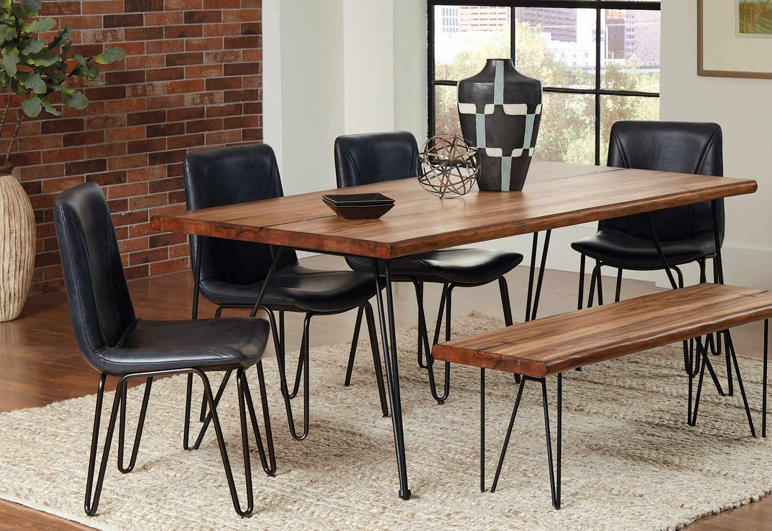 Coaster Chambler Rectangular Dining Set