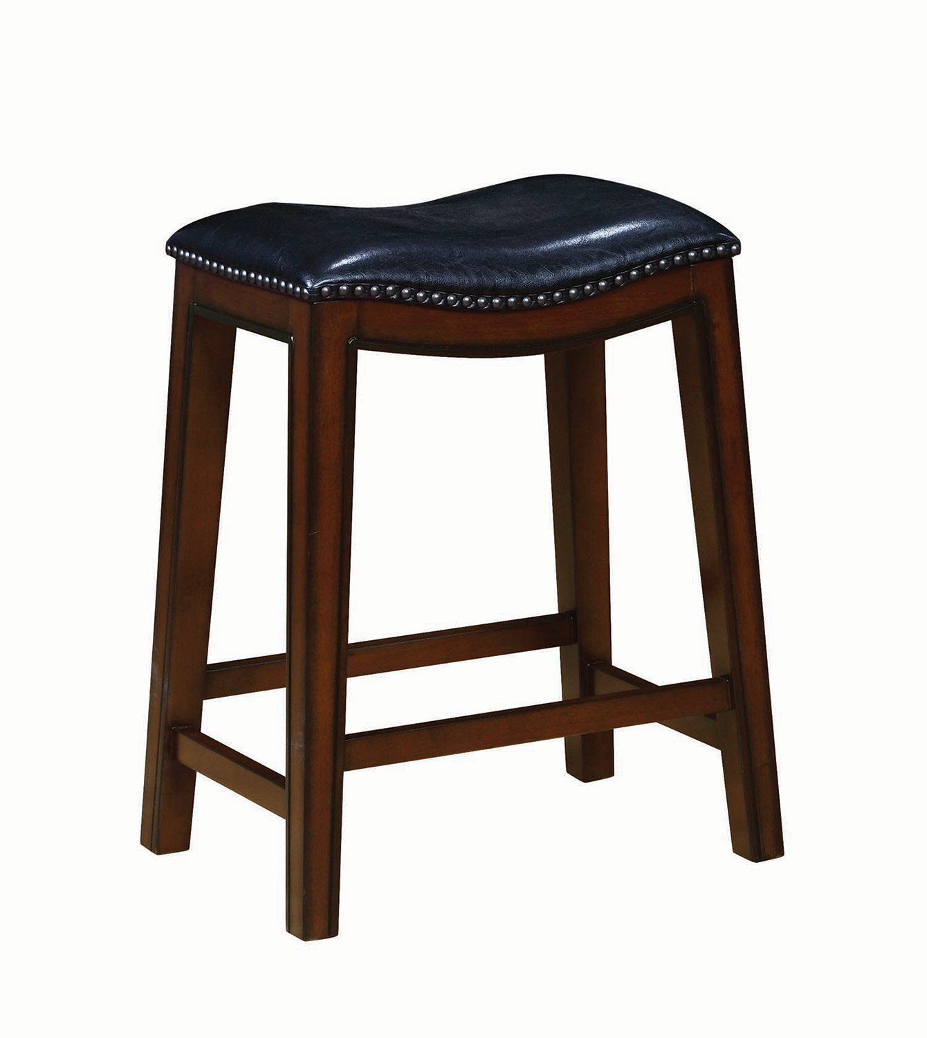 Coaster 122261 Counter Height Stool - Burnished Cappuccino