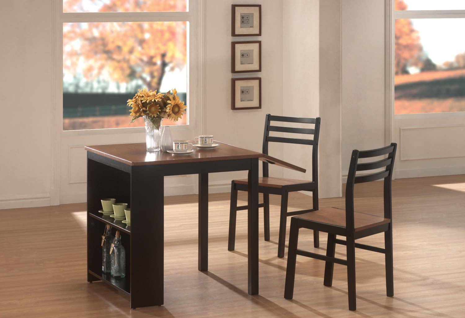 Coaster 130015 3 Pc Breakfast Table Set