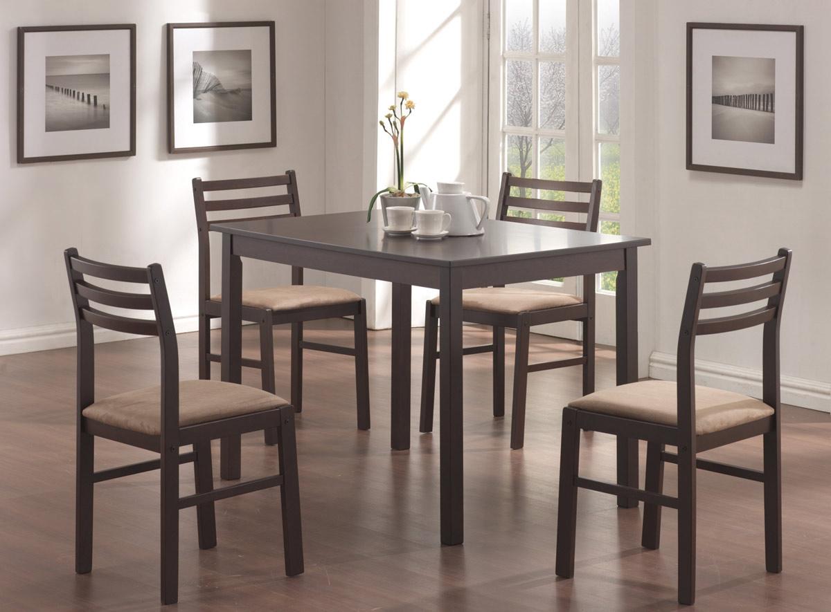 Coaster 150002 5 Piece Dining Set