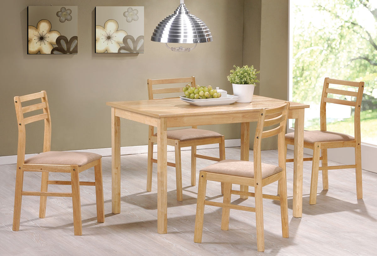 Coaster 150003 5 Piece Dining Set