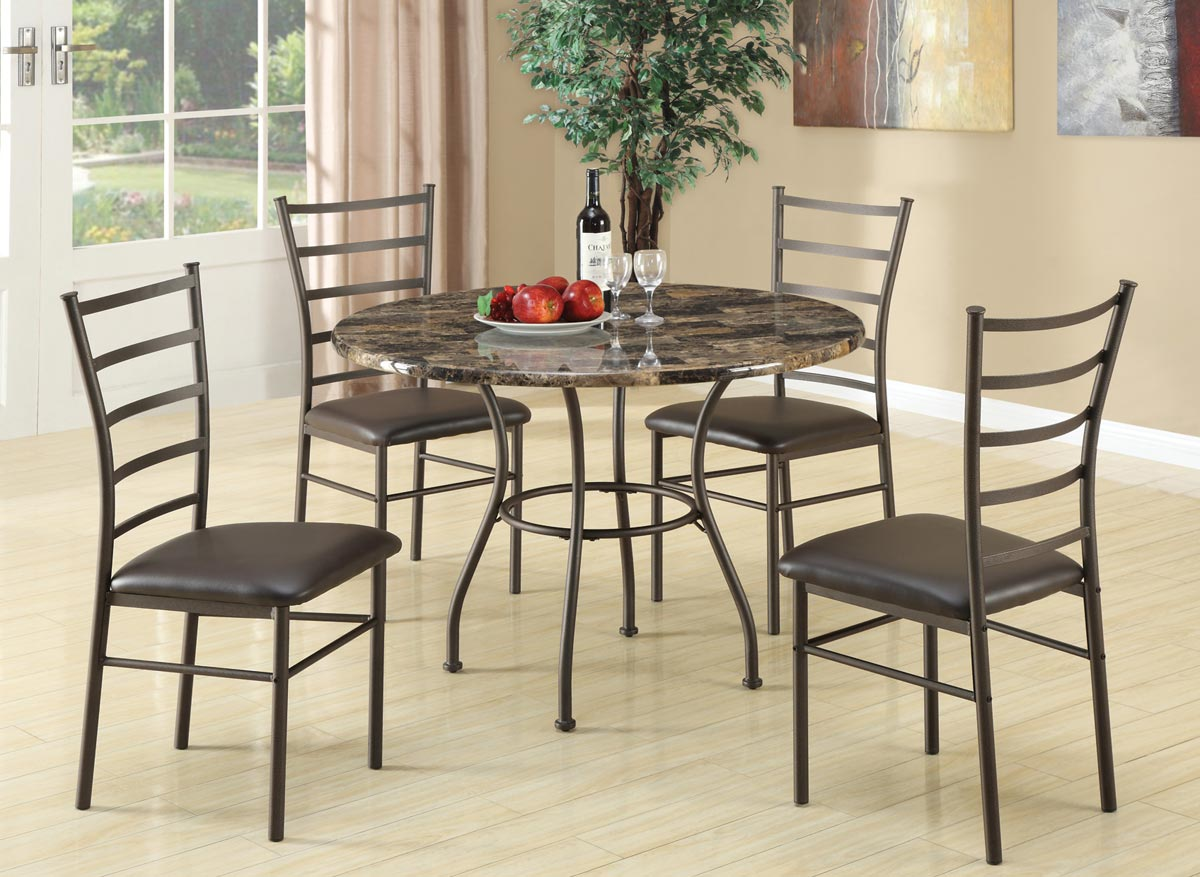 Coaster 150112 5 Piece Dinette Set