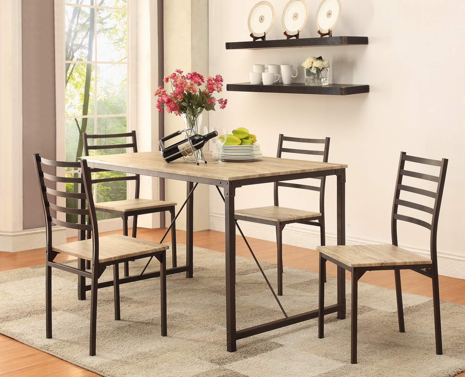 Coaster 150127 5-Piece Dining Set - Bronze