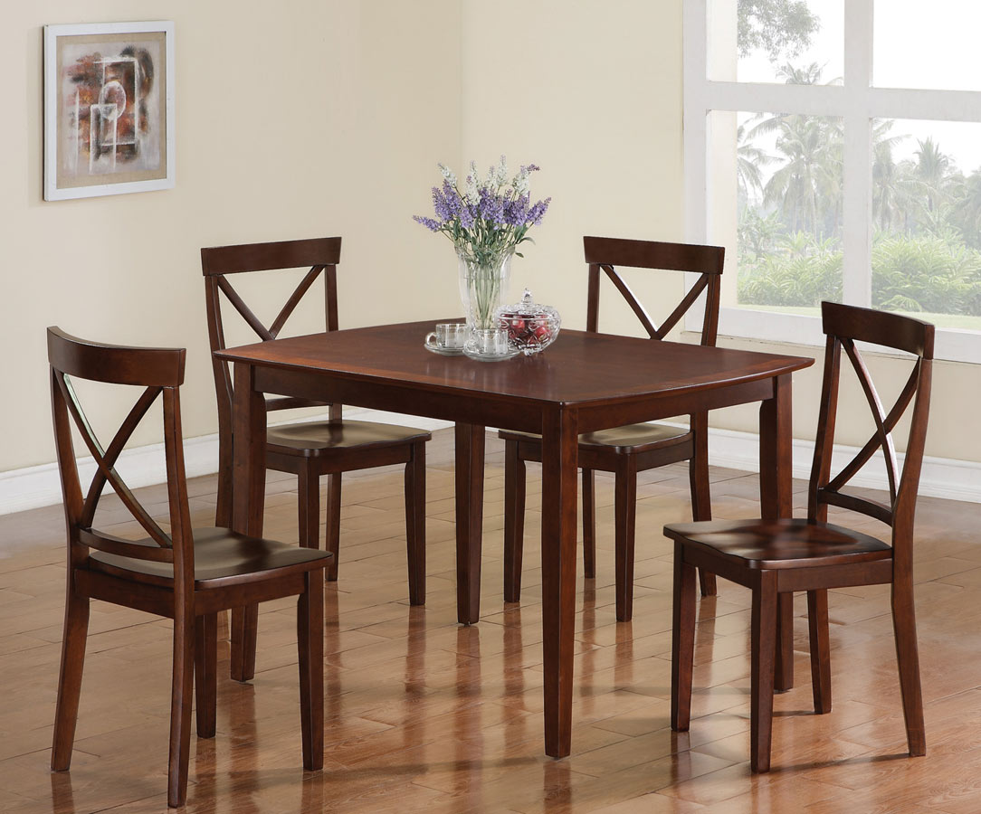 Coaster 150156 5 Piece Dining Set