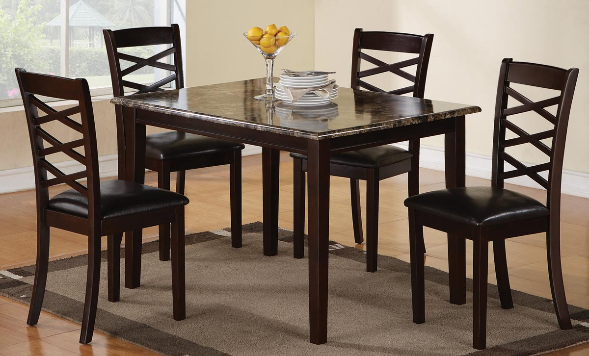Coaster 150157 5 Piece Dining Set