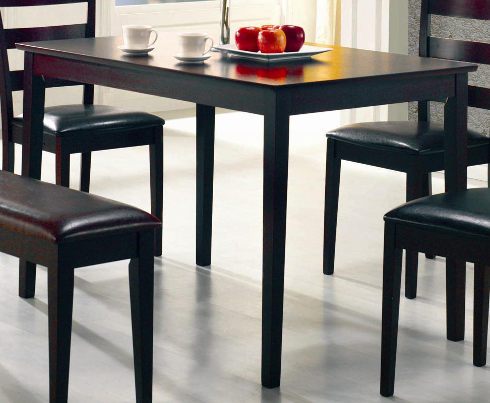 Coaster Taraval 5 Piece Rectangular Dining Set