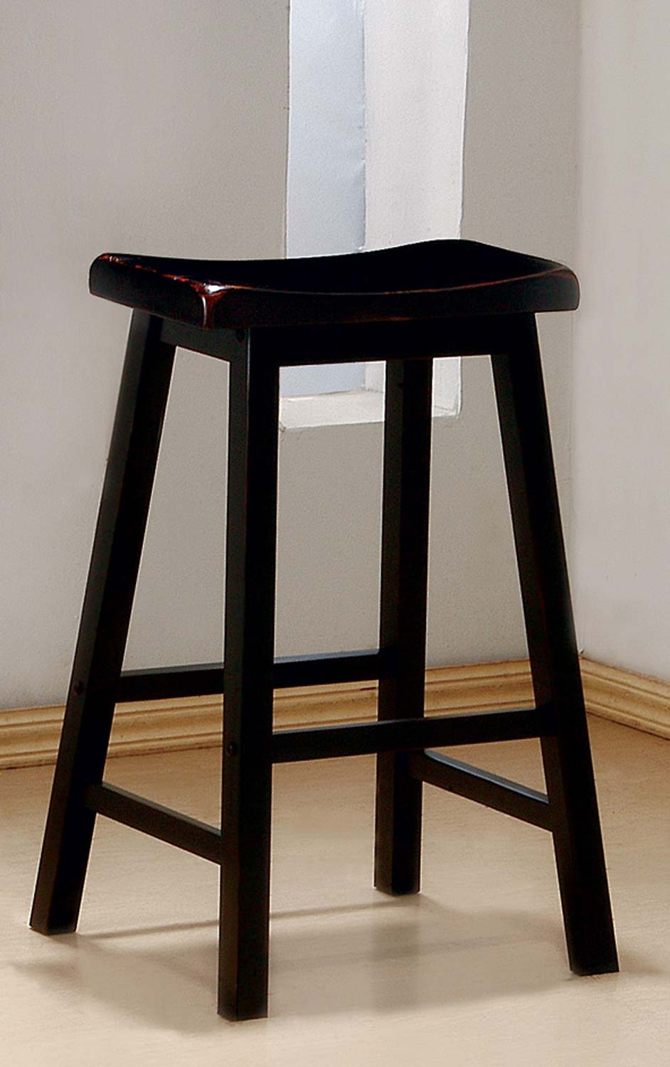 Coaster 180029 Bar Stool - Rich Black