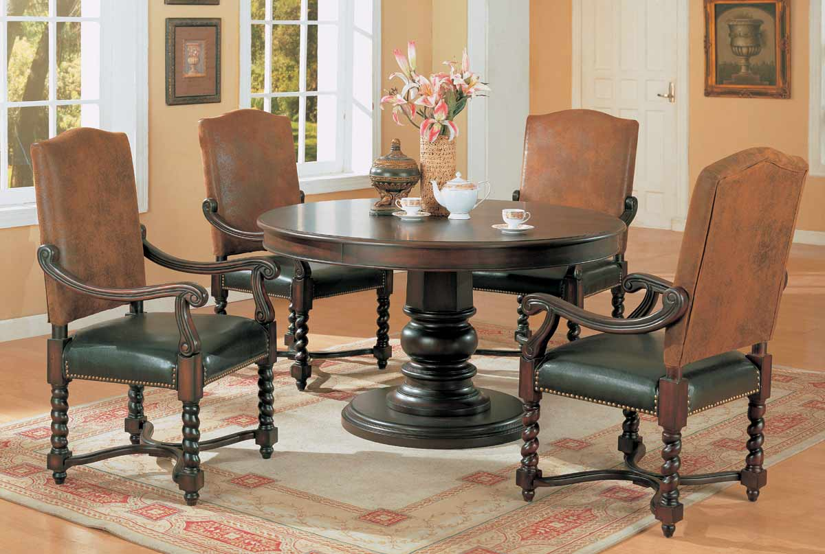 Coaster Riverside Round Dining Collection