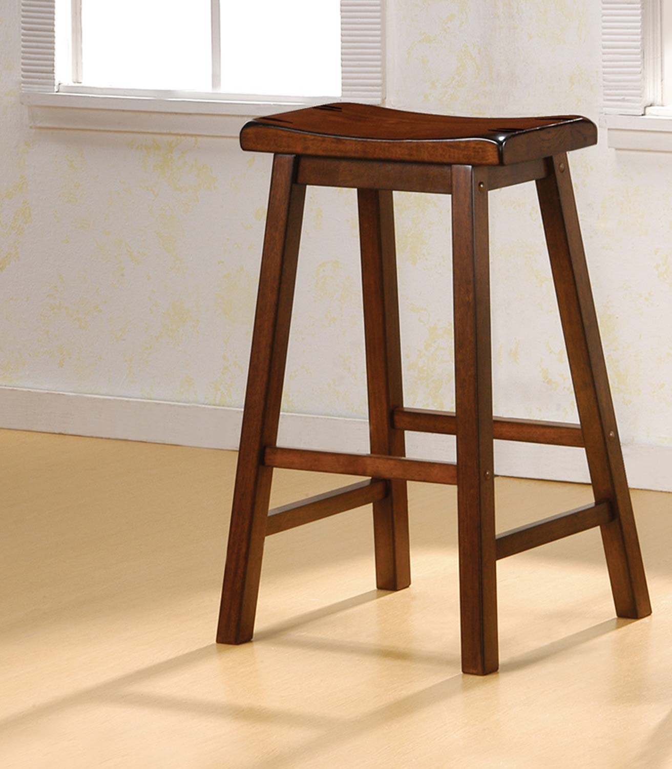 Coaster 180079 Bar Stool - Dark Walnut