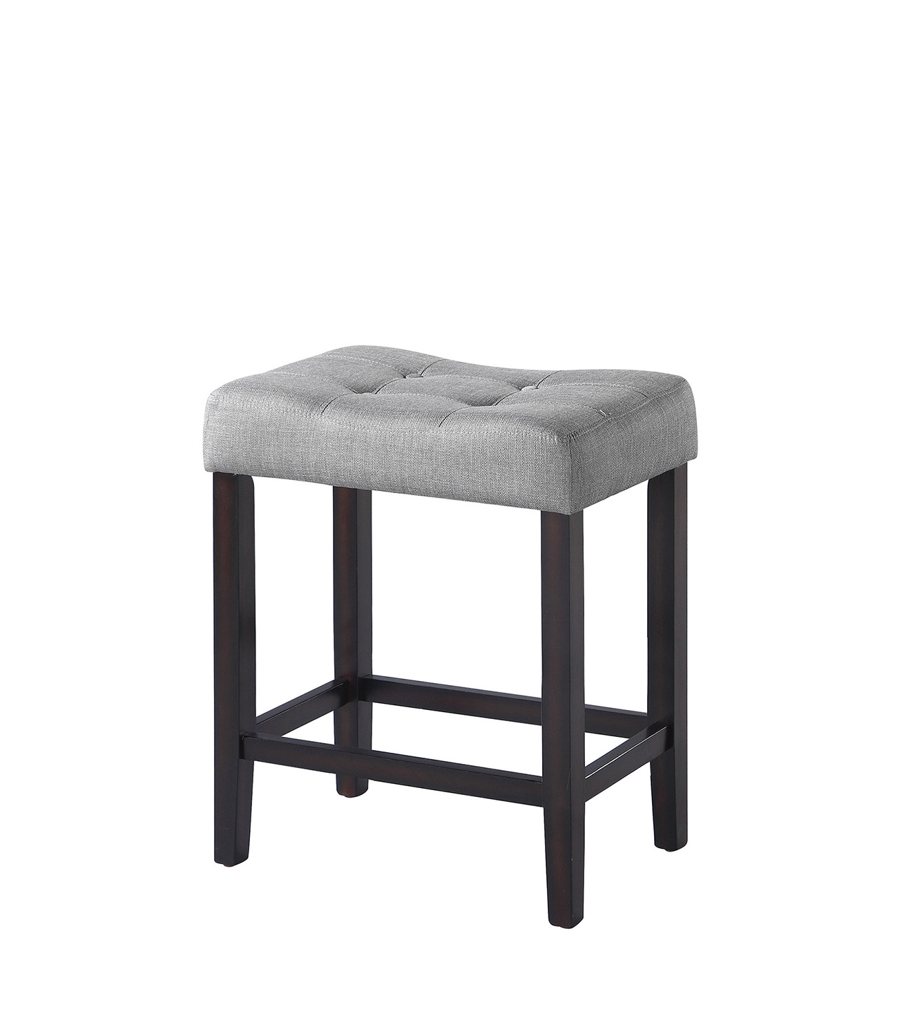 Coaster 182016 Counter Height Stool - Grey Fabric