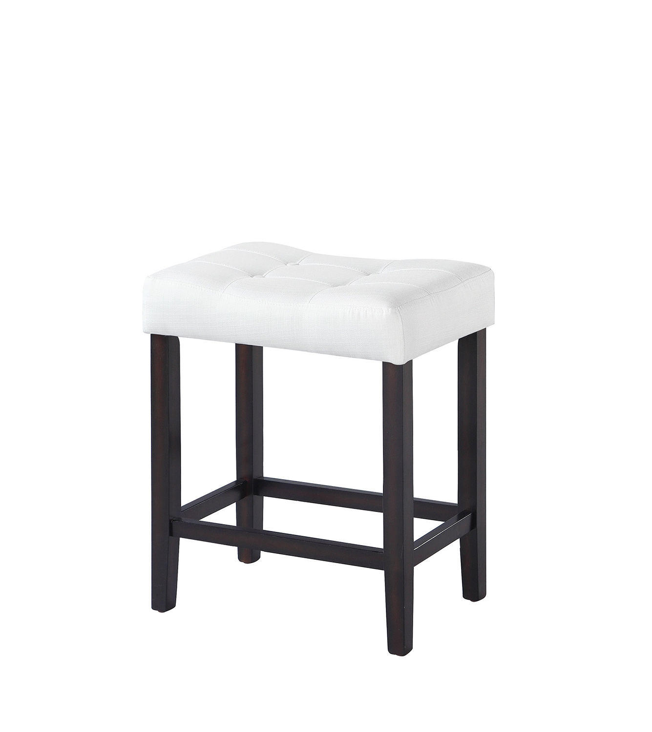Coaster 182018 Counter Height Stool - White Fabric