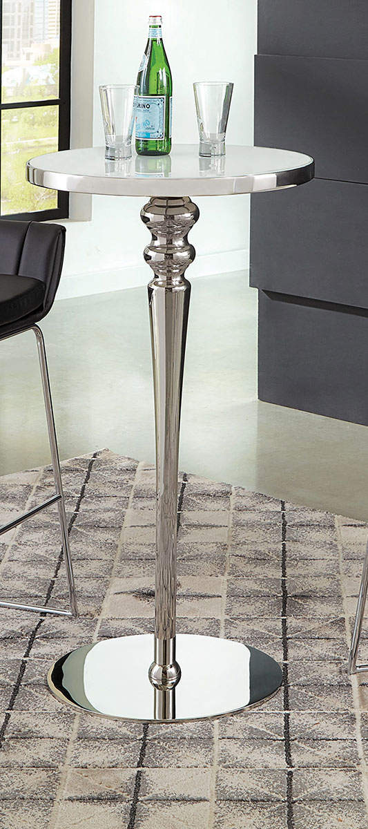 Coaster Dixon Bar Table - White