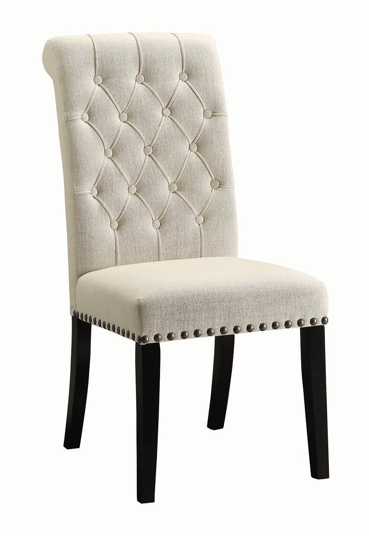 Coaster Parkins Parson Side Chair - Rustic Espresso