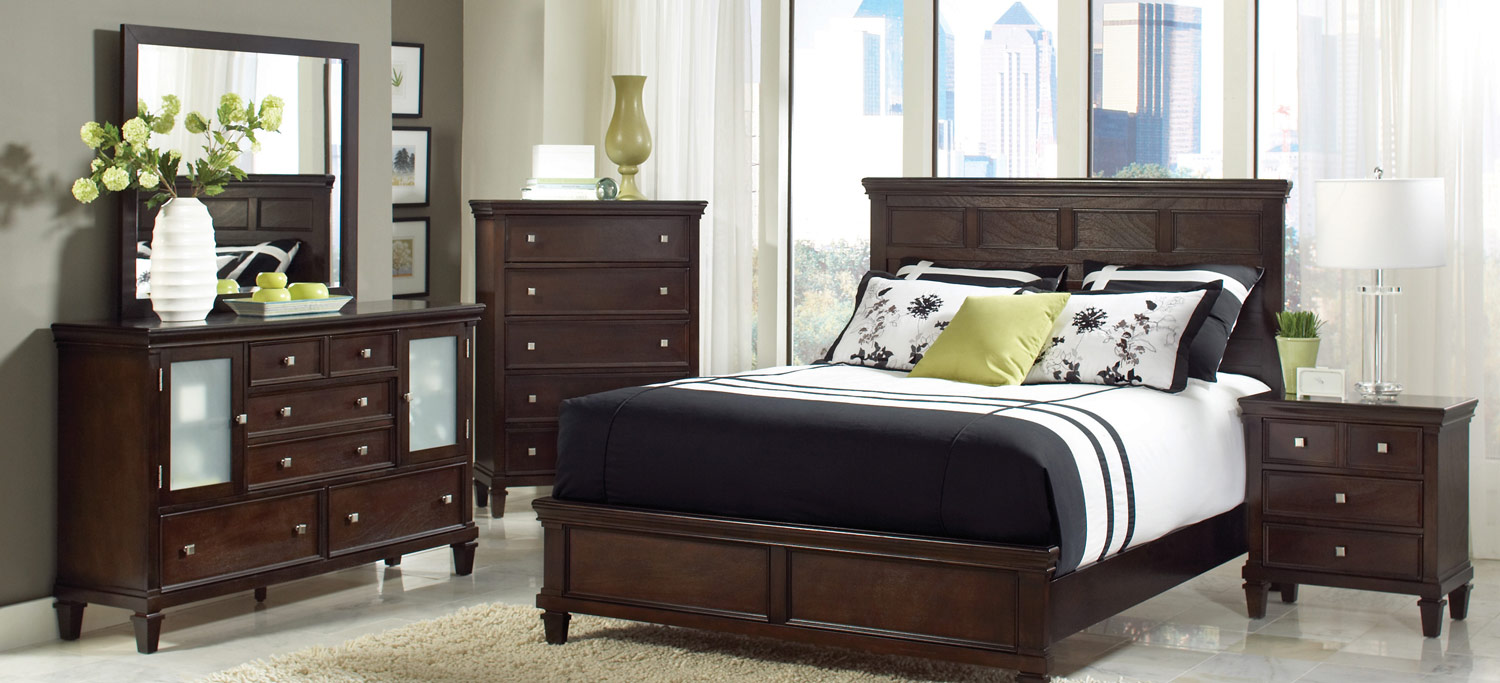 Coaster Camellia Bedroom Set - Cappuccino