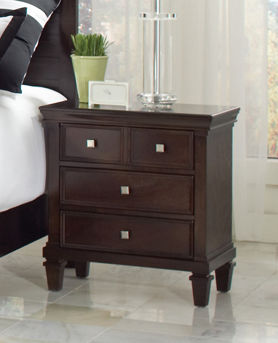 Coaster Camellia Night Stand - Cappuccino