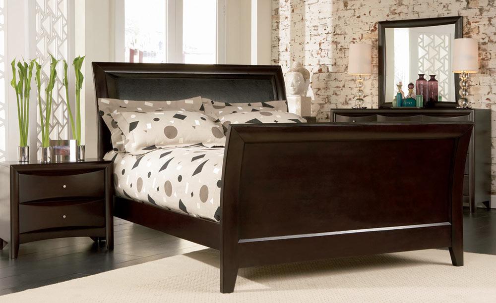 Superbe Coaster Phoenix Sleigh Bedroom Set