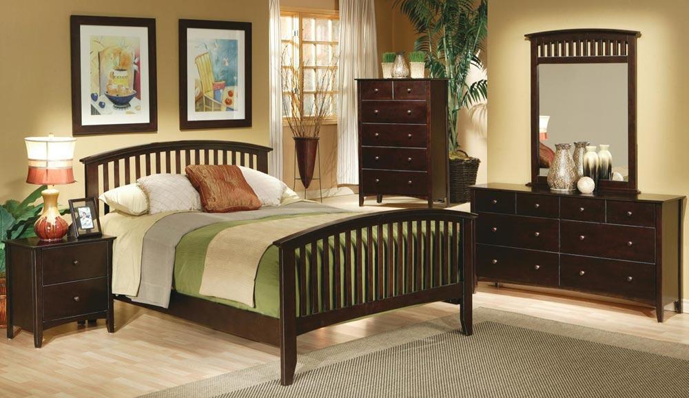 Coaster Temre Panel Bedroom Set